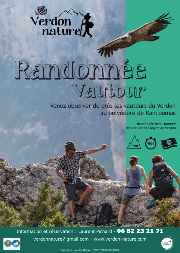 randonnée au belvédère de Rancoumas dans les gorges du Verdon pour aller voir les vautour